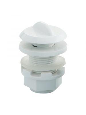 Presa d'aria regolabile in ABS bianco