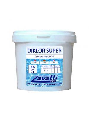 5 kg Diklor Super - cloro granulare per piscina