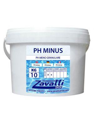 10 Kg PH Minus - riduttore PH granulare per piscina