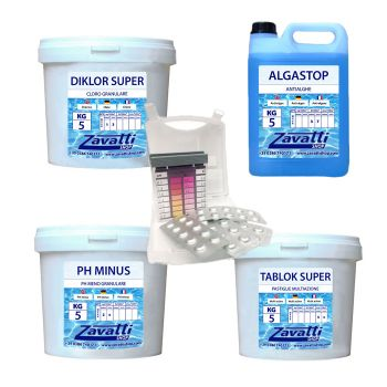 Summer kit Plus chemicals for pool