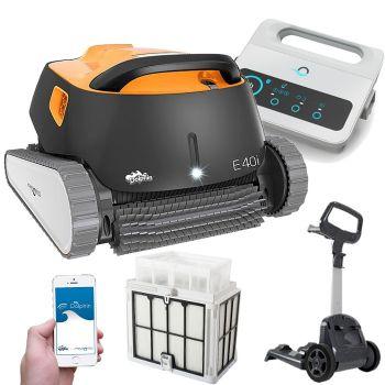 Robot pulitore piscina Dolphin E40i by Maytronics con Timer e Bluetooth