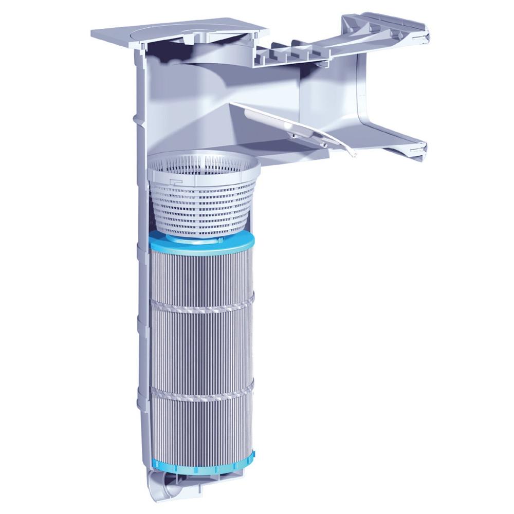 skimmer filter soluzione filtrante