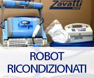 i robot ricondizionati di Zavattishop, centro assistenza ufficiale Dolphin Maytronics
