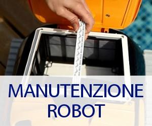 Manutenzione ordinaria robot pulitore piscina