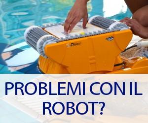 Risolvere i problemi del robot pulitore della piscina in autonomia