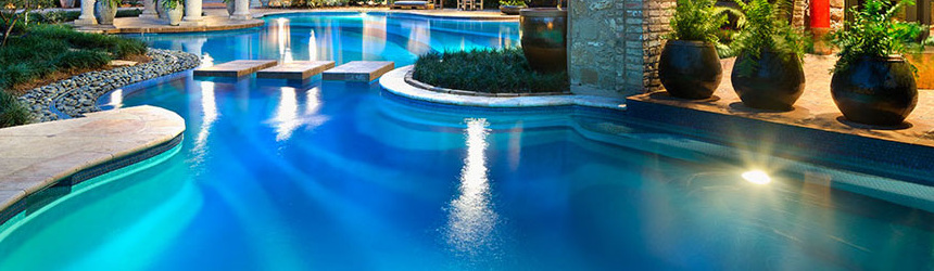 lampade alogene standard per illuminazione piscina