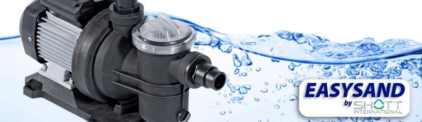 pompe filtranti per piscina Easysand by Shott