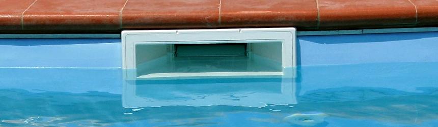 skimmer per piscina interrata
