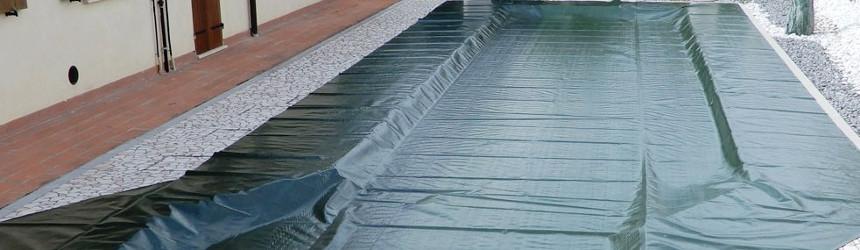 Coperture invernali base per piscine interrate