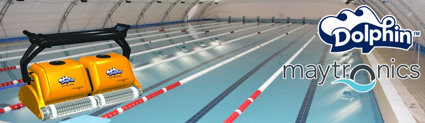 Olympic Dolphin Pool Robots By Maytronics