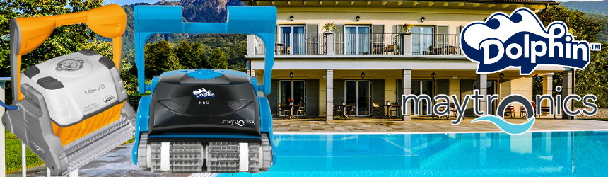 Dolphin Maytronics Residential pool cleaners