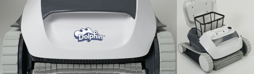 Robot elettrici Dolphin Maytromics per piscine furoiterra
