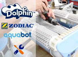 Official assistance for pool cleaners Dolphin Zodiac Aquabot Aquatron Tiger Shark