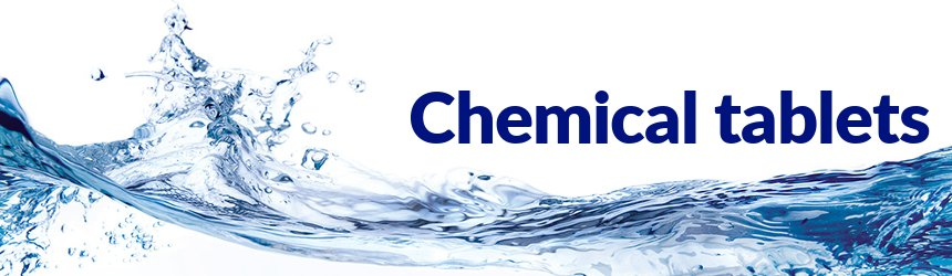 Pool chemical tablets