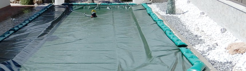 Winter covers with windproof and anti-overturn tubing worldwirde exclusive.