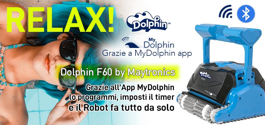 Dolphin Maytronics F60 App Bluetooth