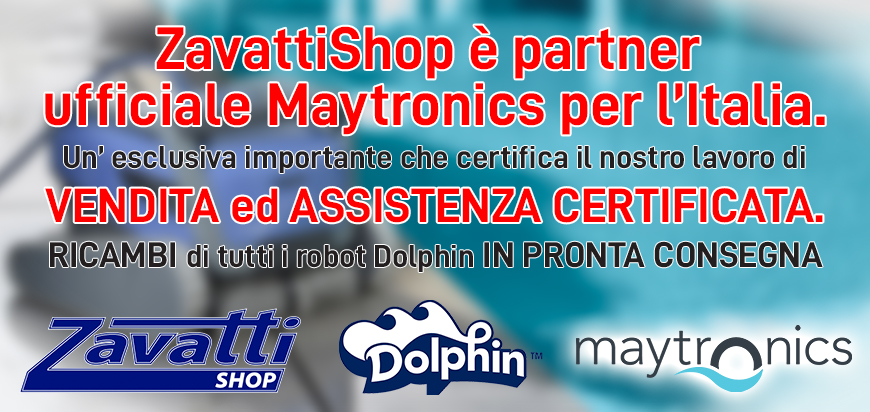 ZavattiShop è centro assitenza ufficiale Maytronics