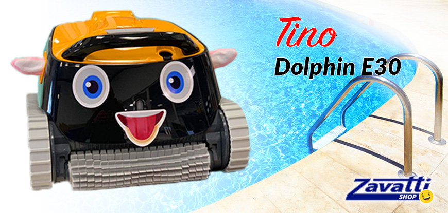 Dolphin Maytronics E30 Pro Caddy pool robot
