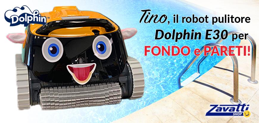 Robot per pulire la piscina Dolphin E30 Smile