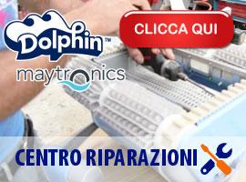 Assistenza ufficiale riparazioni robot pulitori piscina Dolphin Zodiac Aquabot Aquatron Tiger Shark